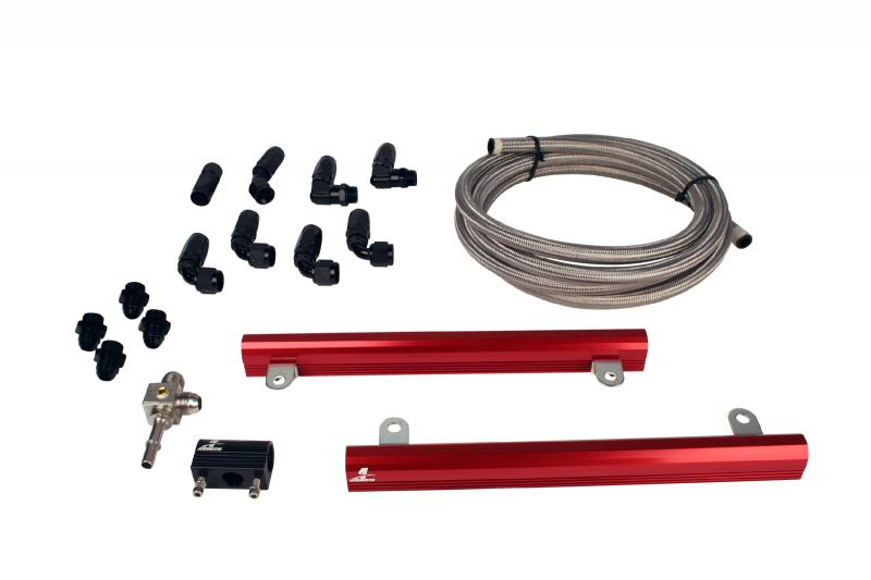 Aeromotive 14145 Fuel System 07 Ford 5.4L GT500 Mustang Fuel Rail Kit Ford Mustang 2007