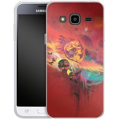 Samsung Galaxy J3 (2016) Silikon Handyhuelle - Uncaged von Mat Miller