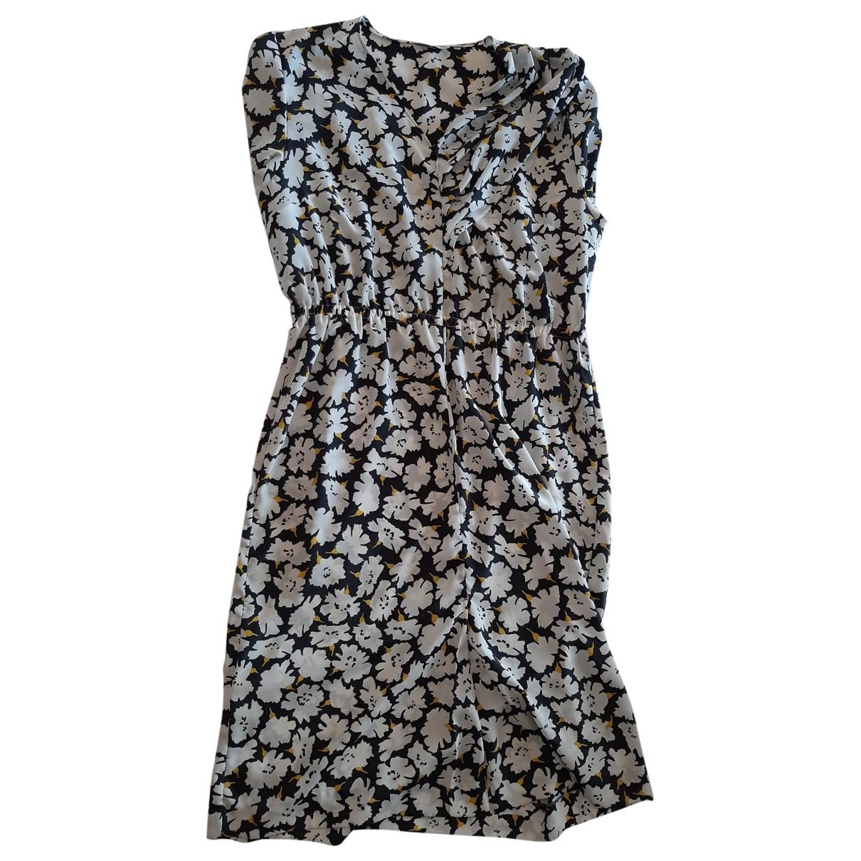 Elena Miro \N Kleid in  Weiss Polyester