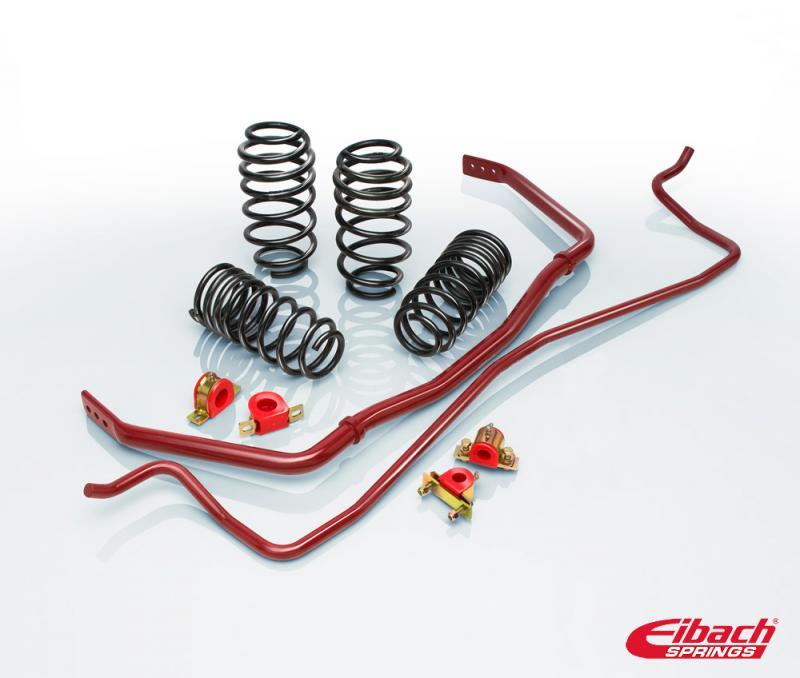 Eibach 7220.880 Springs PRO-PLUS (PRO-KIT Springs & ANTI-ROLL-KIT Sway Bars) Porsche