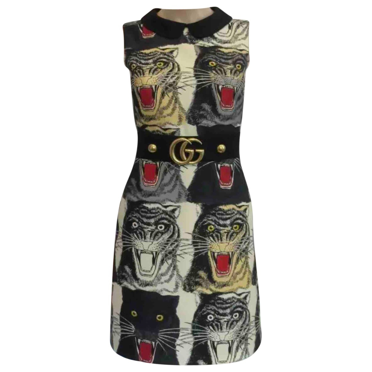 Gucci N Multicolour Wool dress for Women 36 IT