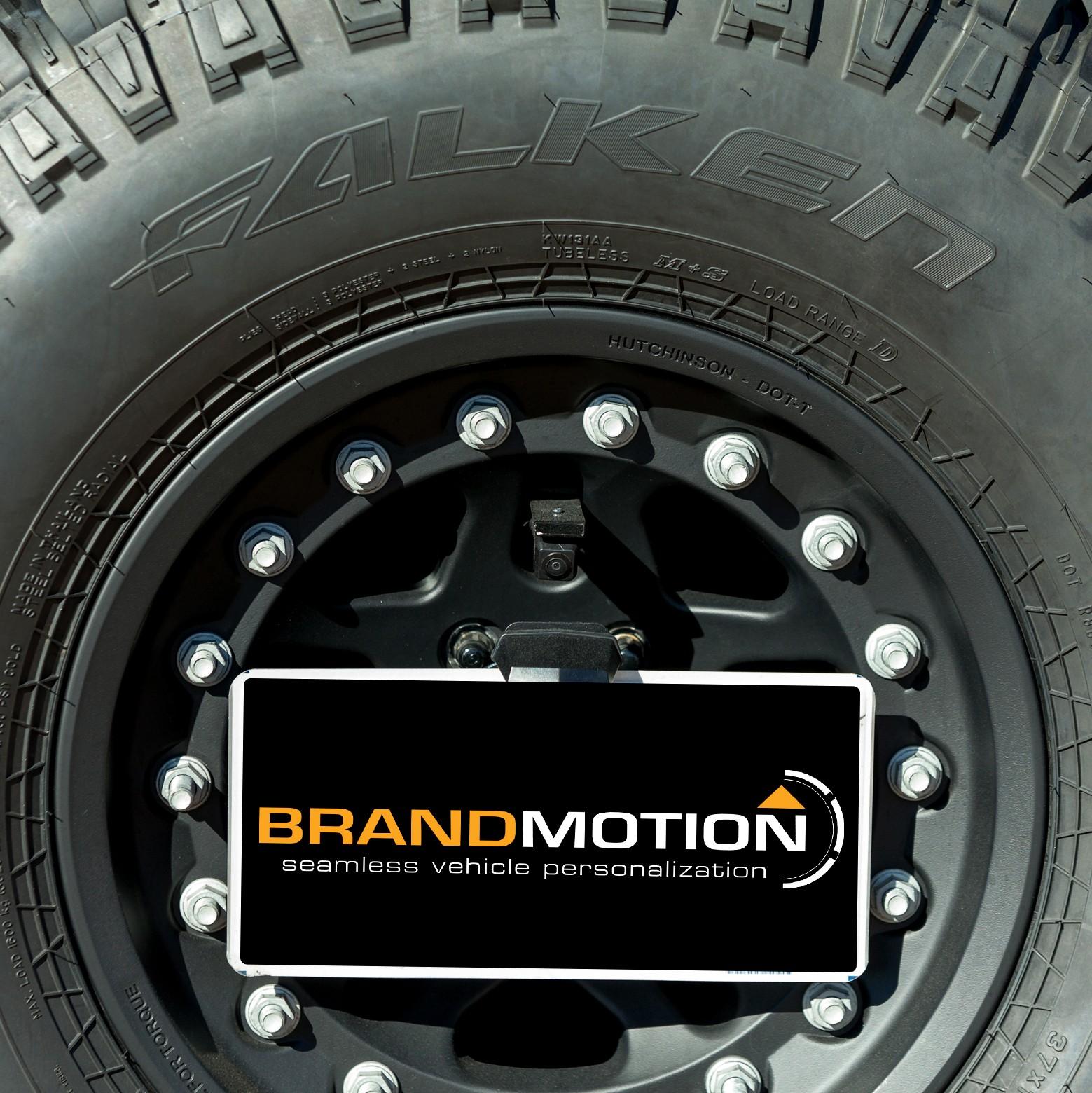 Brandmotion 9002-8847 Adjustable Rear Vision System for Factory Display Radios Jeep Wrangler 07-19