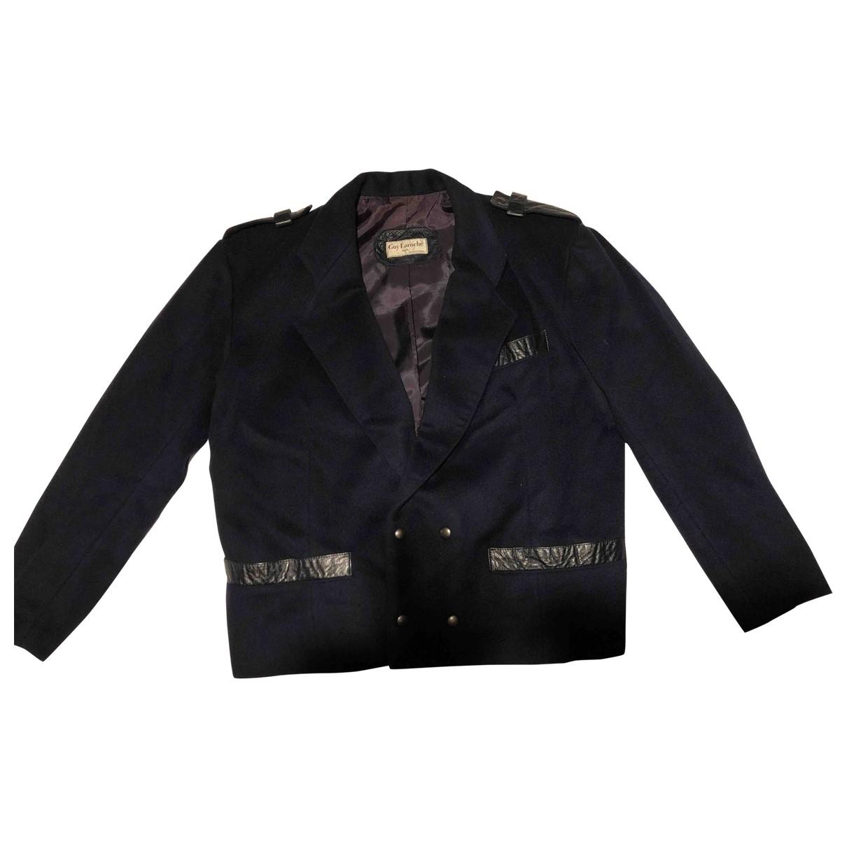 Guy Laroche \N Navy Wool jacket  for Men M International