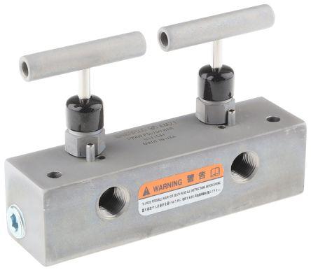 Enerpac Hydraulic Manifold AM21, 5 stations