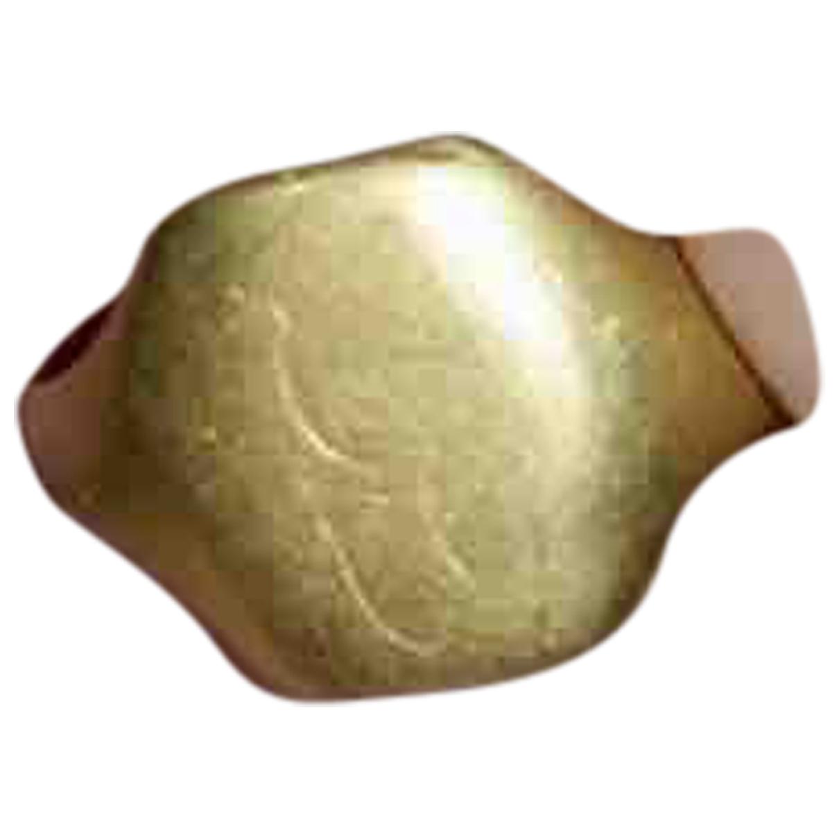 Anillo Chevalieres de Oro amarillo Non Signe / Unsigned