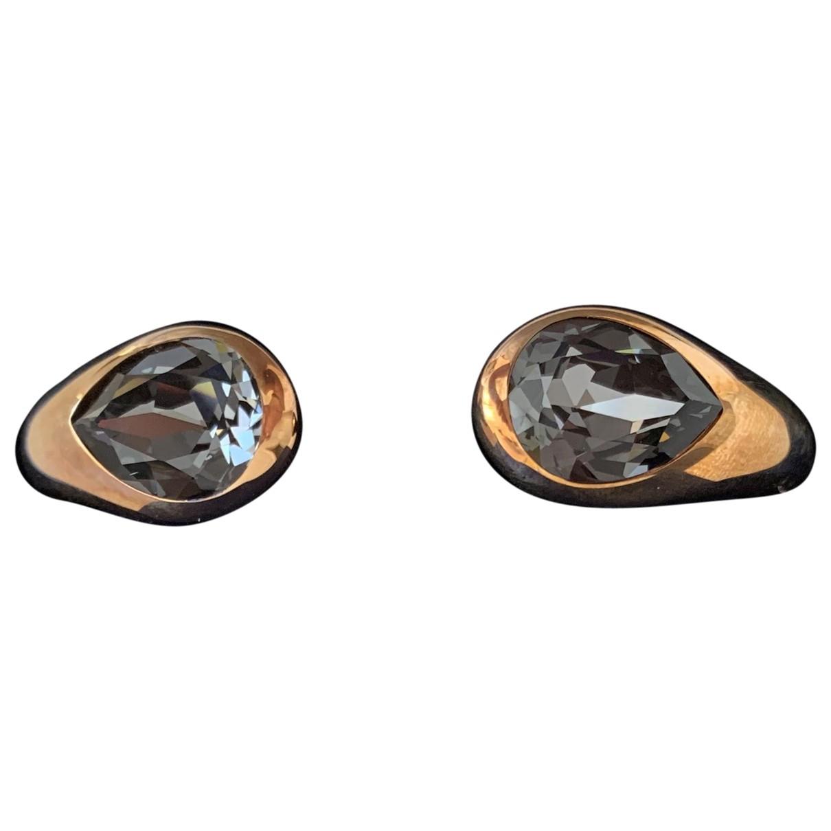 Swarovski - Bracelet   pour femme en metal - noir