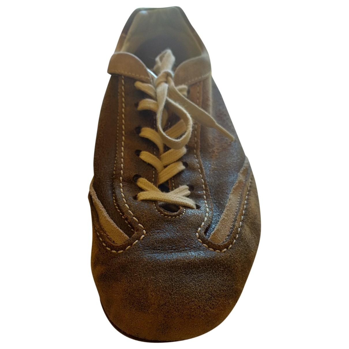 Hogan \N Sneakers in  Bunt Veloursleder
