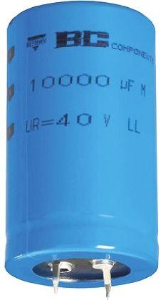 Vishay 10000μF Electrolytic Capacitor 16V dc, Through Hole - MAL205855103E3
