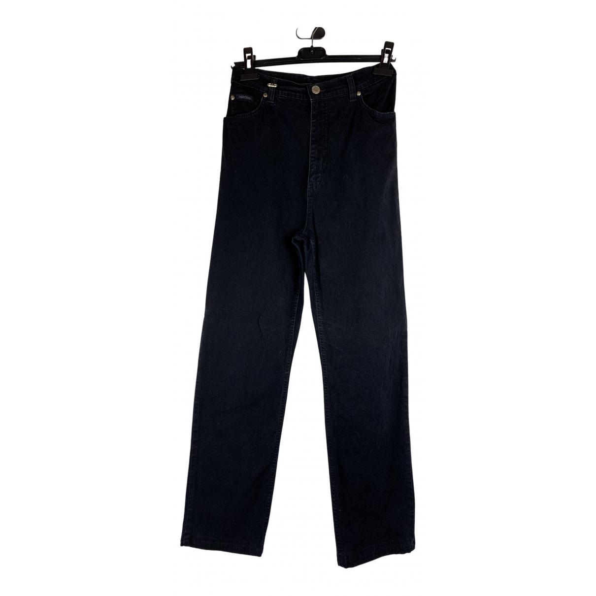 Valentino Garavani N Black Cotton Jeans for Women 28 US