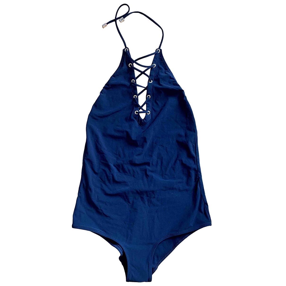 Versace \N Badeanzug in  Schwarz Lycra