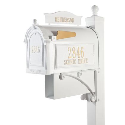 16304 Aluminum Ultimate Mailbox Package in