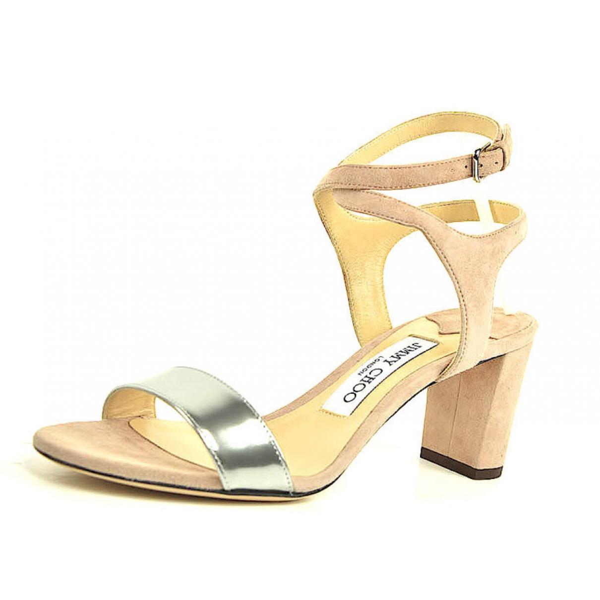 Sandalias de Cuero Jimmy Choo