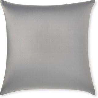 Throw Pillow Cozy Soft Microbead Dark Grey: 1 Pc (26 x 26)