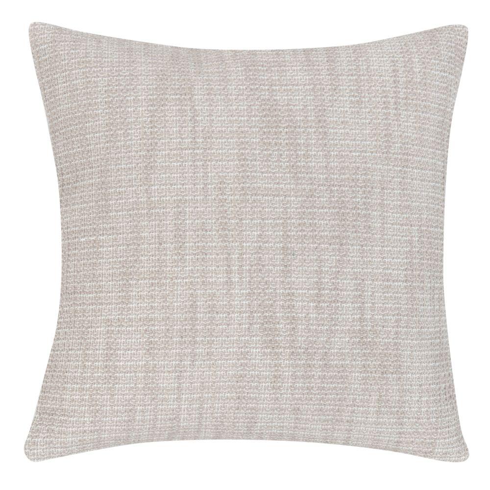 Kissenbezug aus Baumwolle, beige meliert 40x40