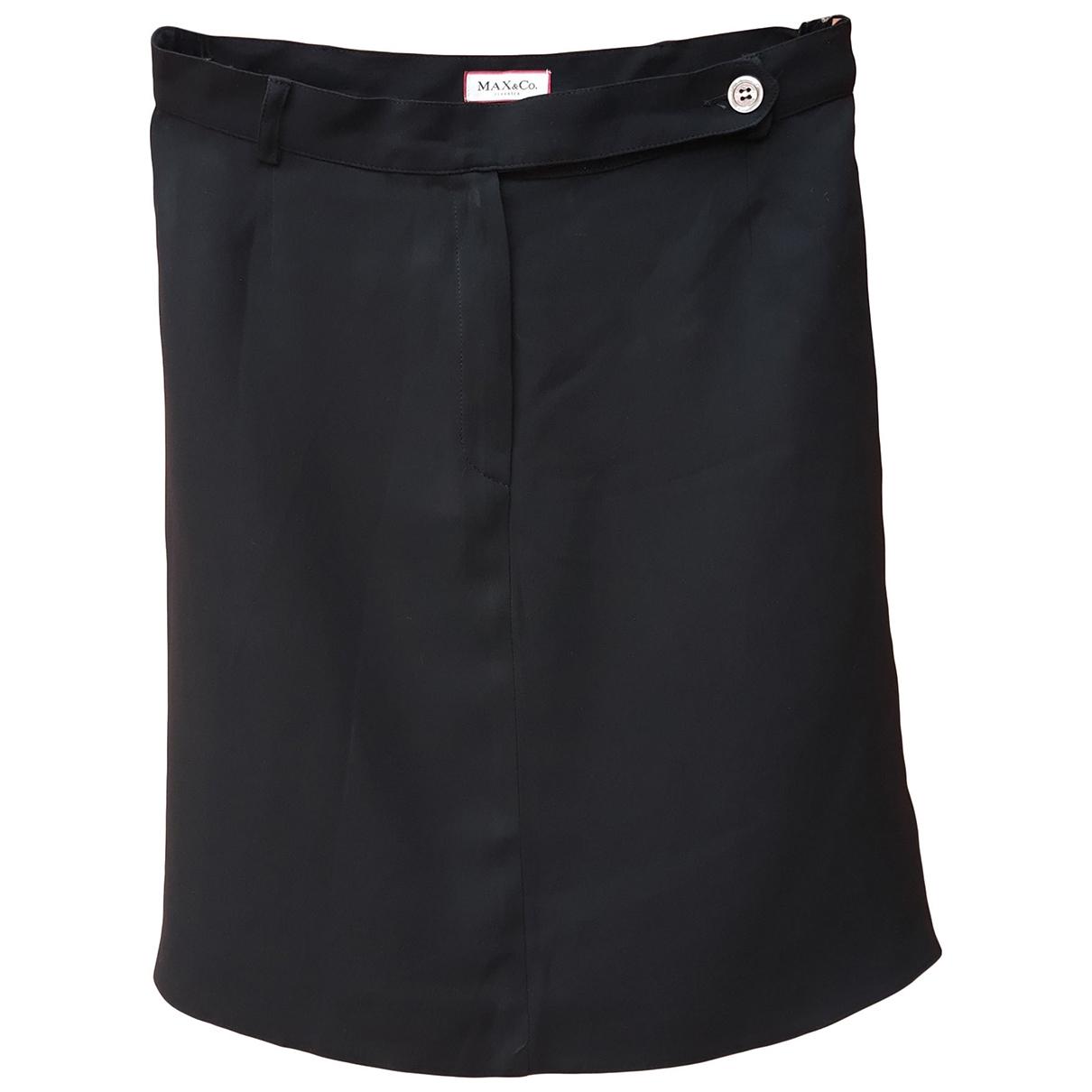 Max Mara \N Black skirt for Women 42 IT