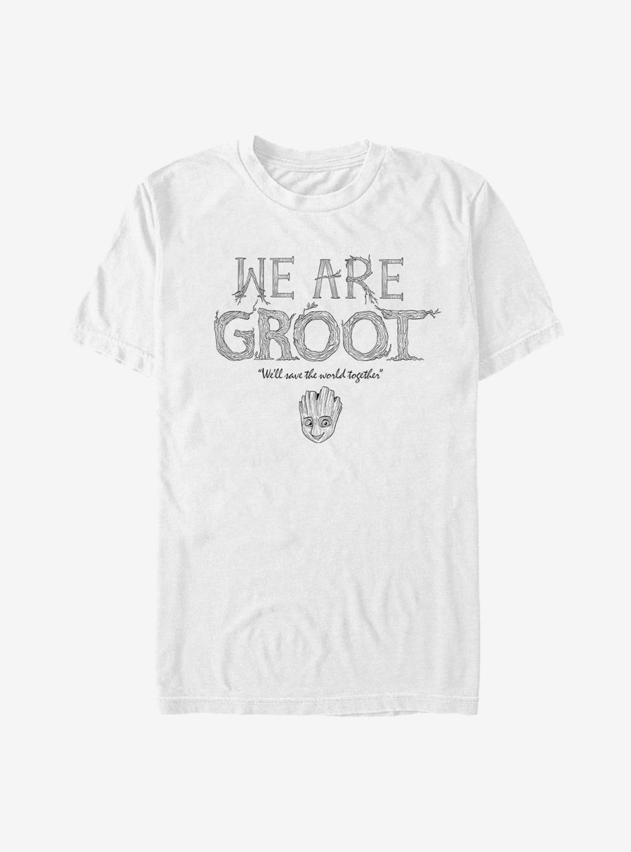 Marvel Guardians Of The Galaxy Grow Together T-Shirt