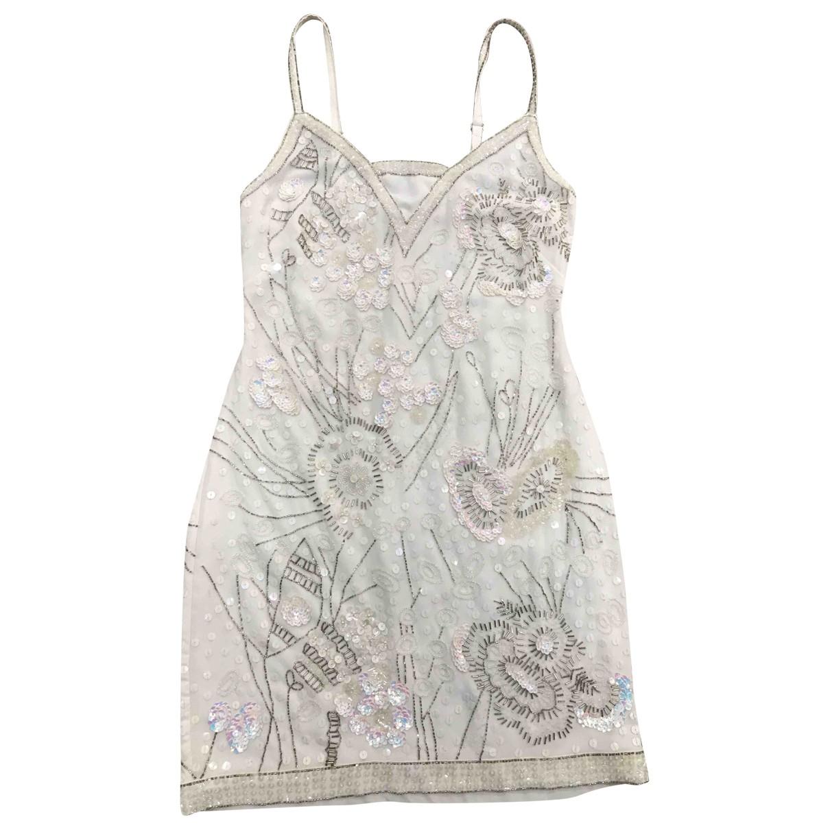 Yoana Baraschi \N Kleid in  Weiss Polyester