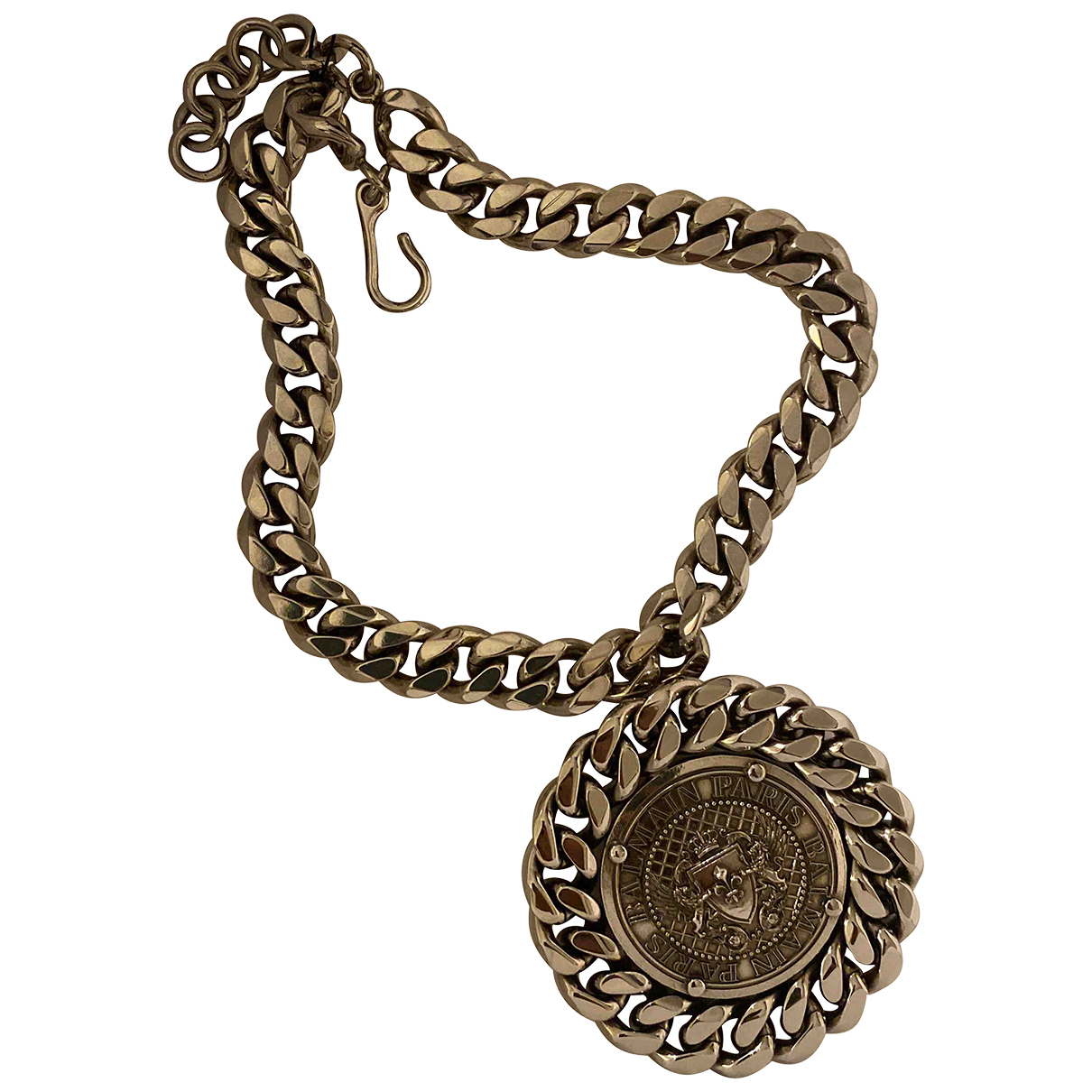 Balmain - Collier   pour femme en metal - argente