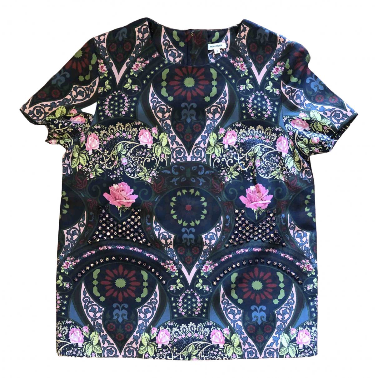 Manoush - Top   pour femme en laine - multicolore
