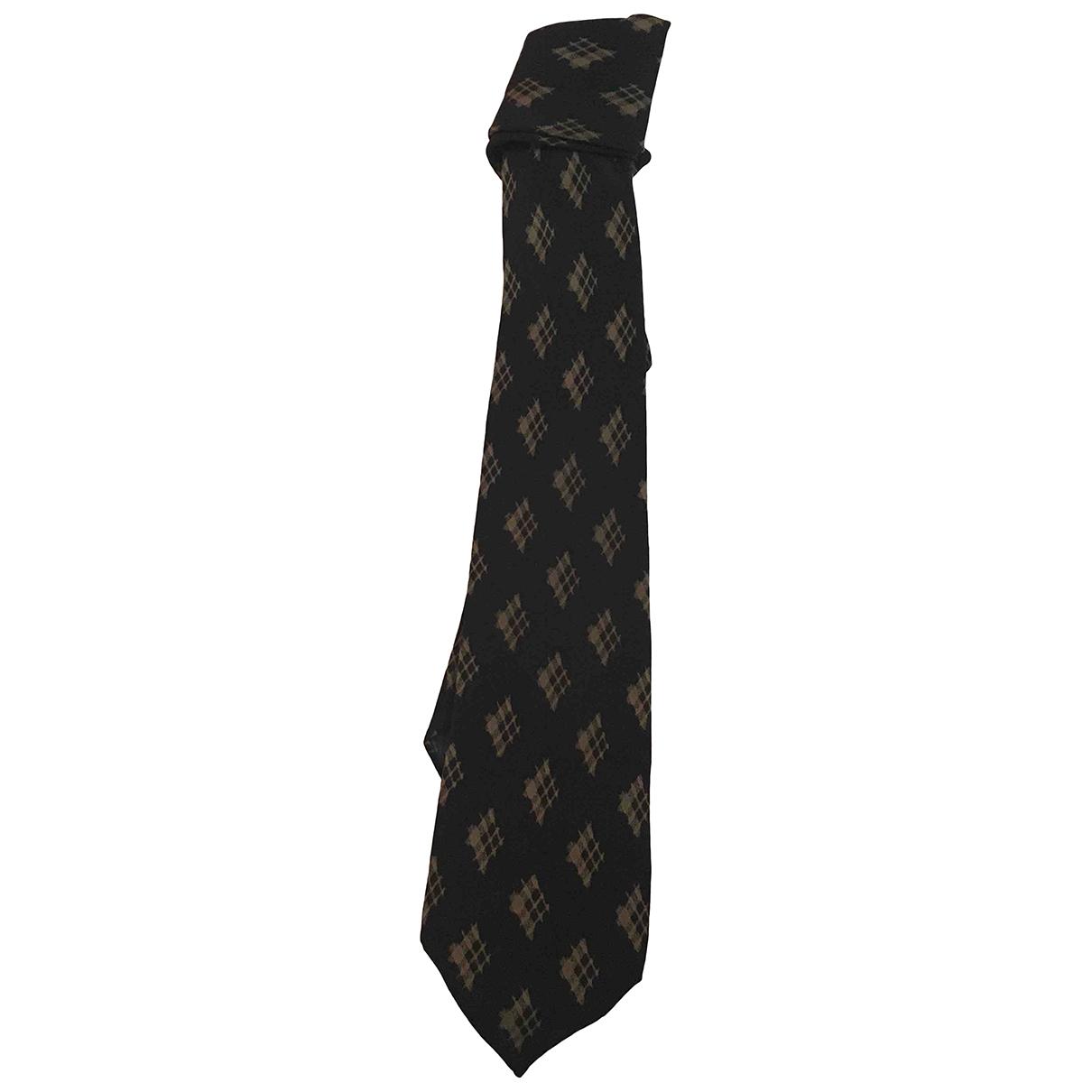 Fendi - Cravates   pour homme en soie - noir