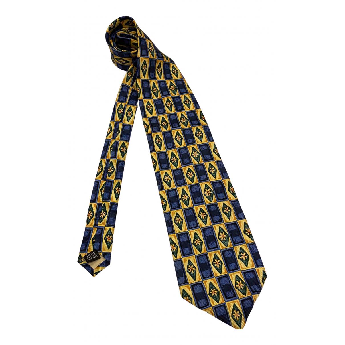 Hobbs \N Krawatten in  Blau Seide