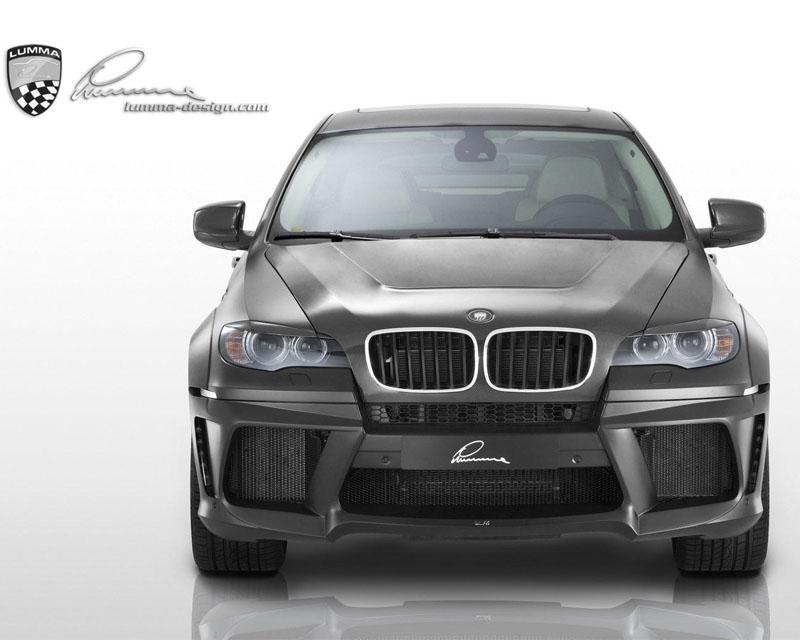 LUMMA Carbon Coated Headlight Screen for BMW X6 09-15