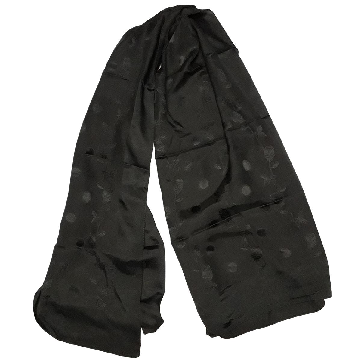 Dior - Foulard   pour femme en soie - noir