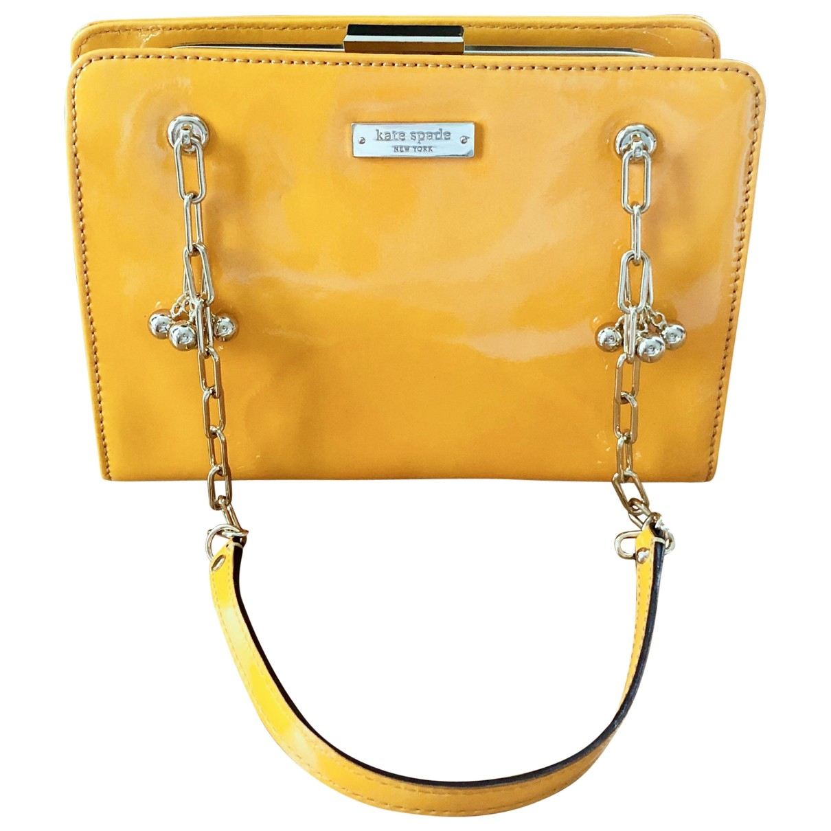Kate Spade \N Yellow Patent leather handbag for Women \N