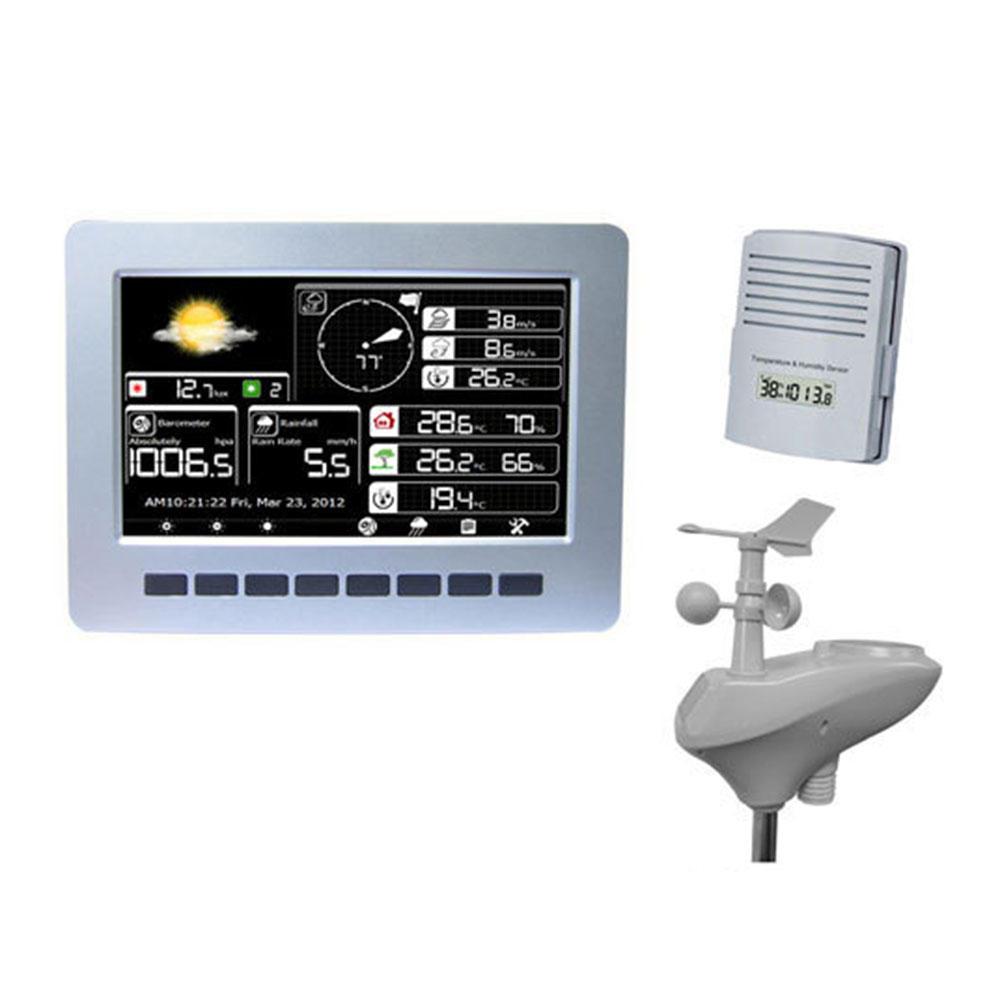 Misol-HP2K WIFI Weather Station With Solar Powered Sensor Wireless Data Upload Data Storage
