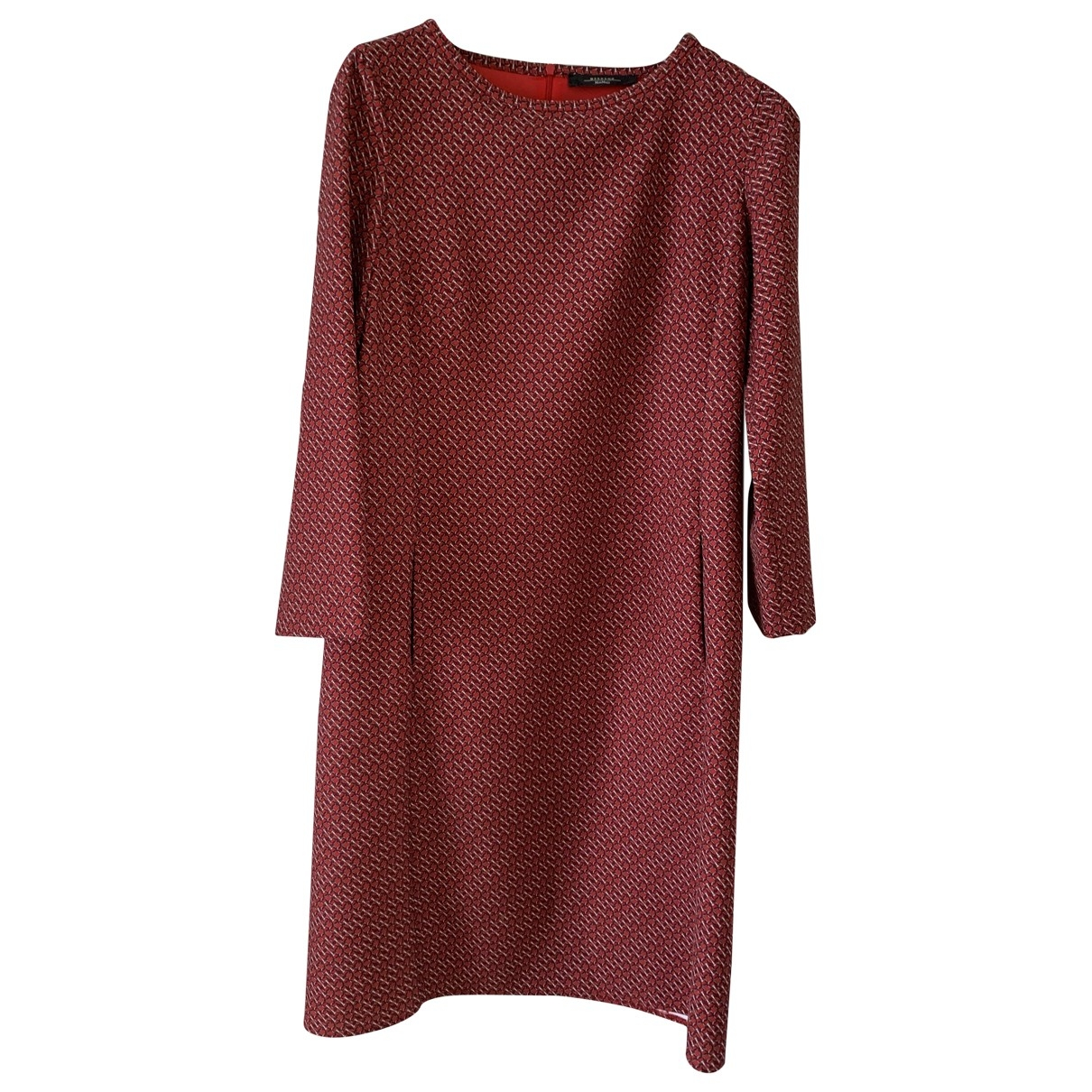 Max Mara Weekend \N Red dress for Women 42 IT