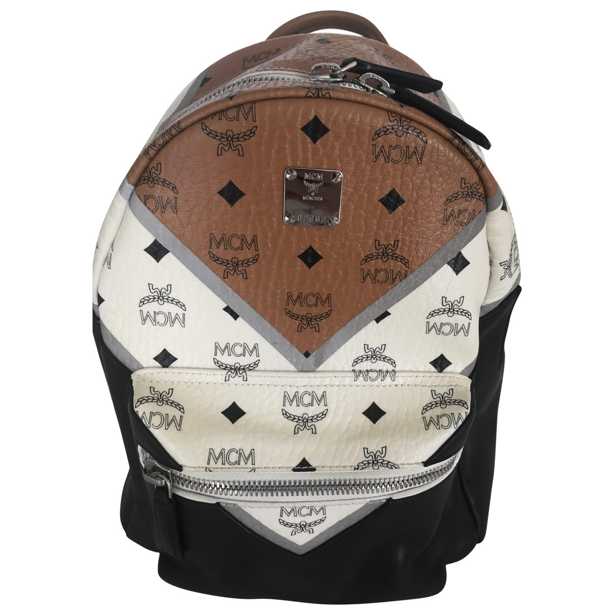 Mcm \N Camel Leather backpack for Women \N