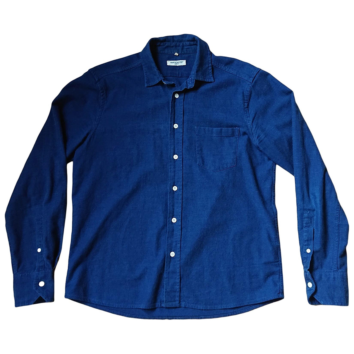 Levi's Made & Crafted \N Blue Cotton Shirts for Men S International