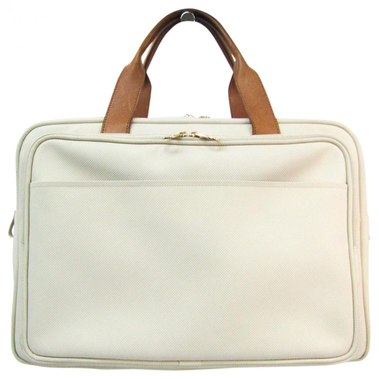 Bottega Veneta \N White Cloth Travel bag for Women \N