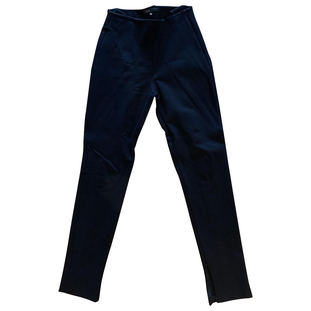 Maje \N Black Trousers for Women 36 FR