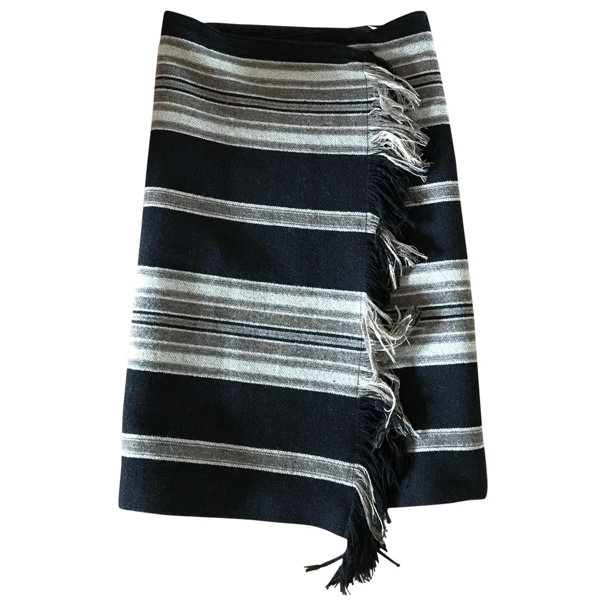Isabel Marant \N Multicolour Wool skirt for Women 38 FR