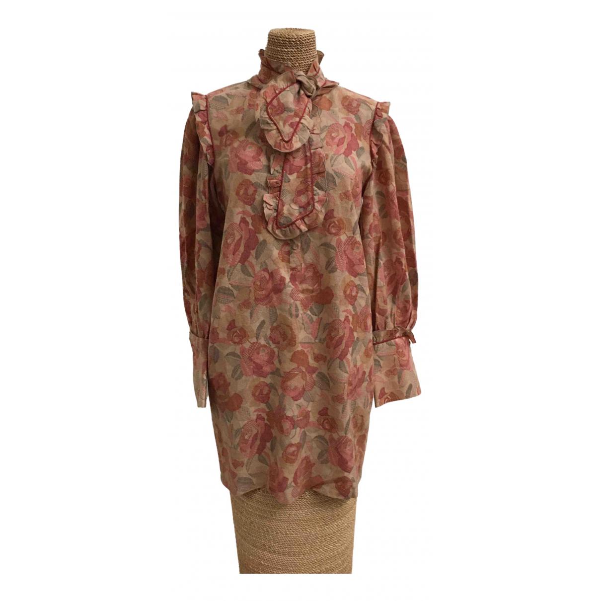 Pierre Balmain \N Kleid in  Bunt Wolle