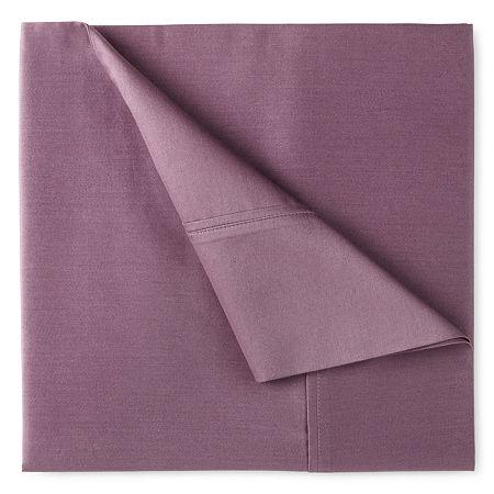 400tc Liquid Cotton Sateen Sheet Set - Liz Claiborne, One Size , Purple