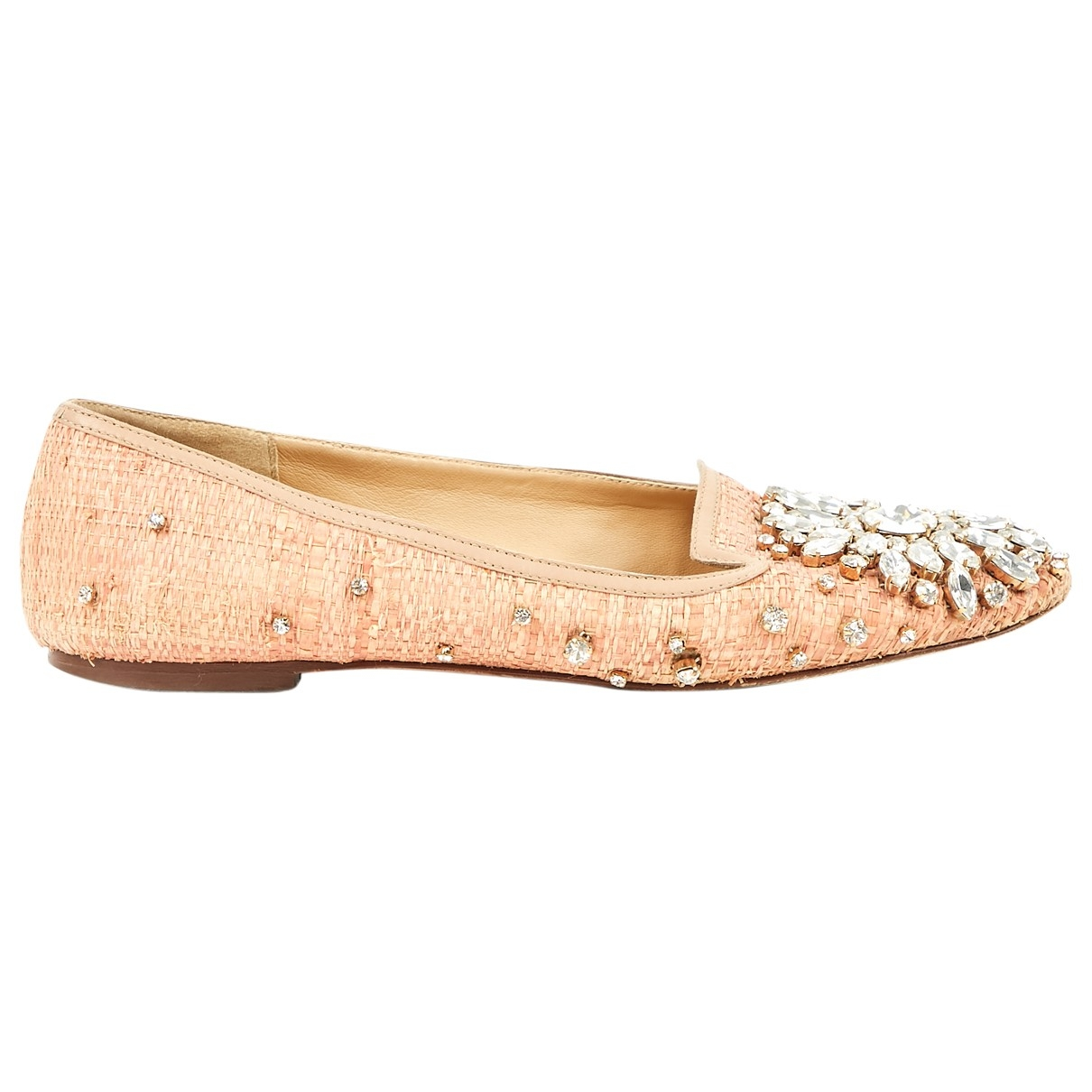 Dolce & Gabbana \N Ballerinas in  Rosa Leder