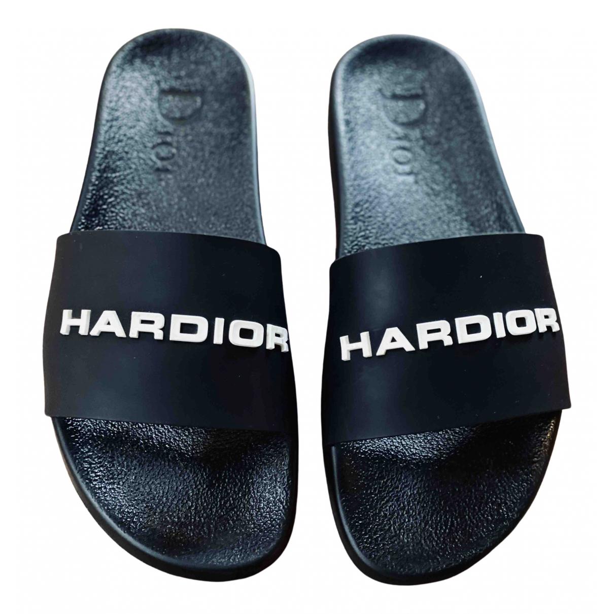 Dior Homme - Sandales   pour homme en caoutchouc - noir
