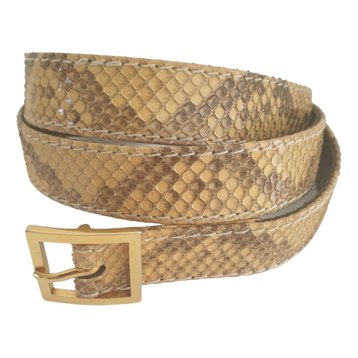 Cinturon de Piton Yves Saint Laurent