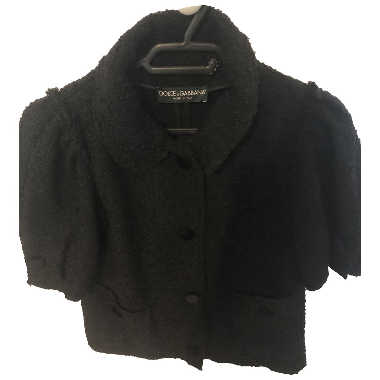 Dolce & Gabbana \N Black Wool jacket for Women 38 FR