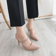 Pink Einfarbig Casual  Pumps