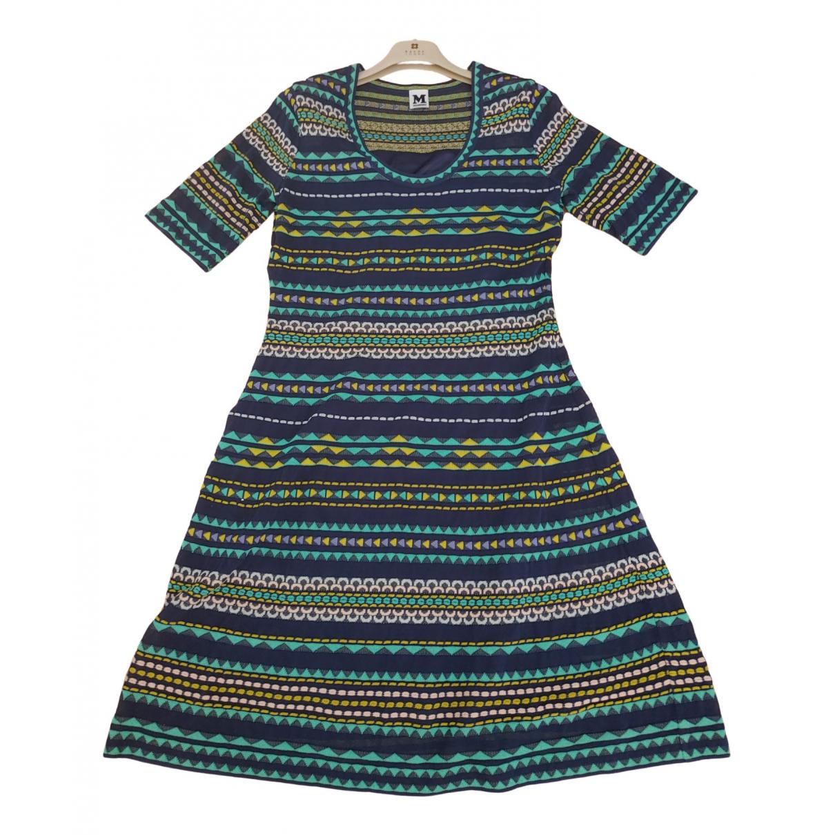 M Missoni \N Navy Cotton dress for Women 48 IT