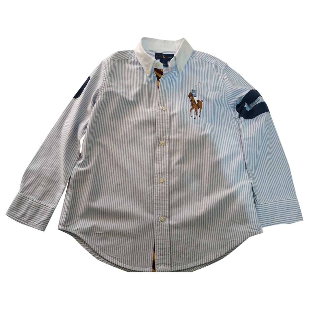 Ralph Lauren \N Blue Cotton  top for Kids 6 years - until 45 inches UK