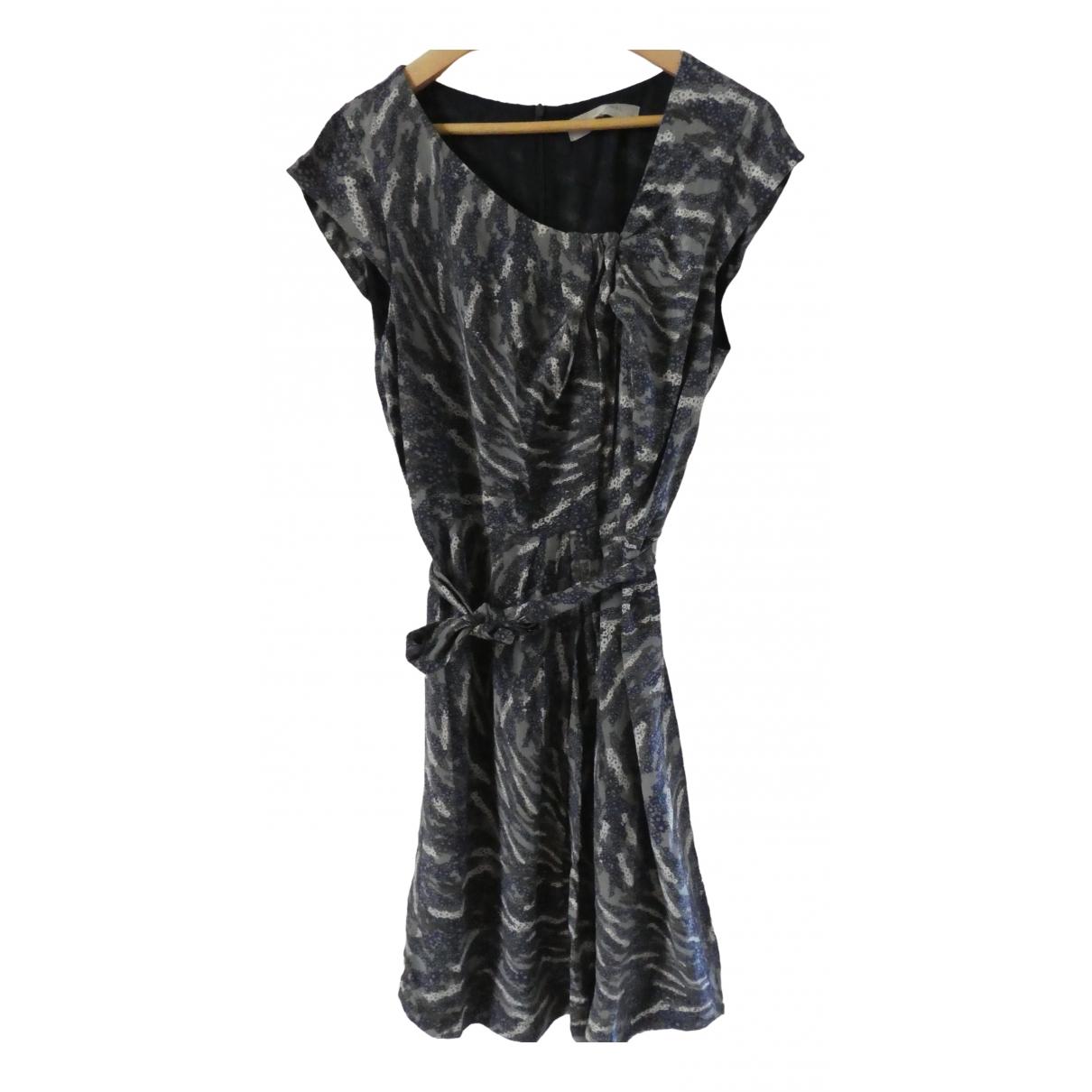 Gerard Darel \N Multicolour Silk dress for Women 44 FR