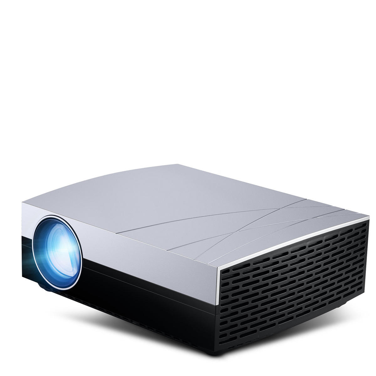 Vivibright F20UP Projector Android 6.0 1280x800 HD 1080P 3000 Lumens2000:1 Contrast Ratio LED Video Home Cinema Projec