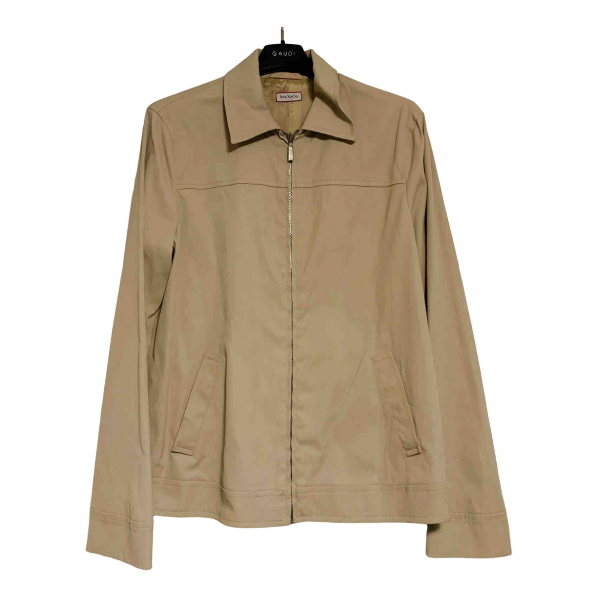 Max & Co \N Trench in  Beige Synthetik