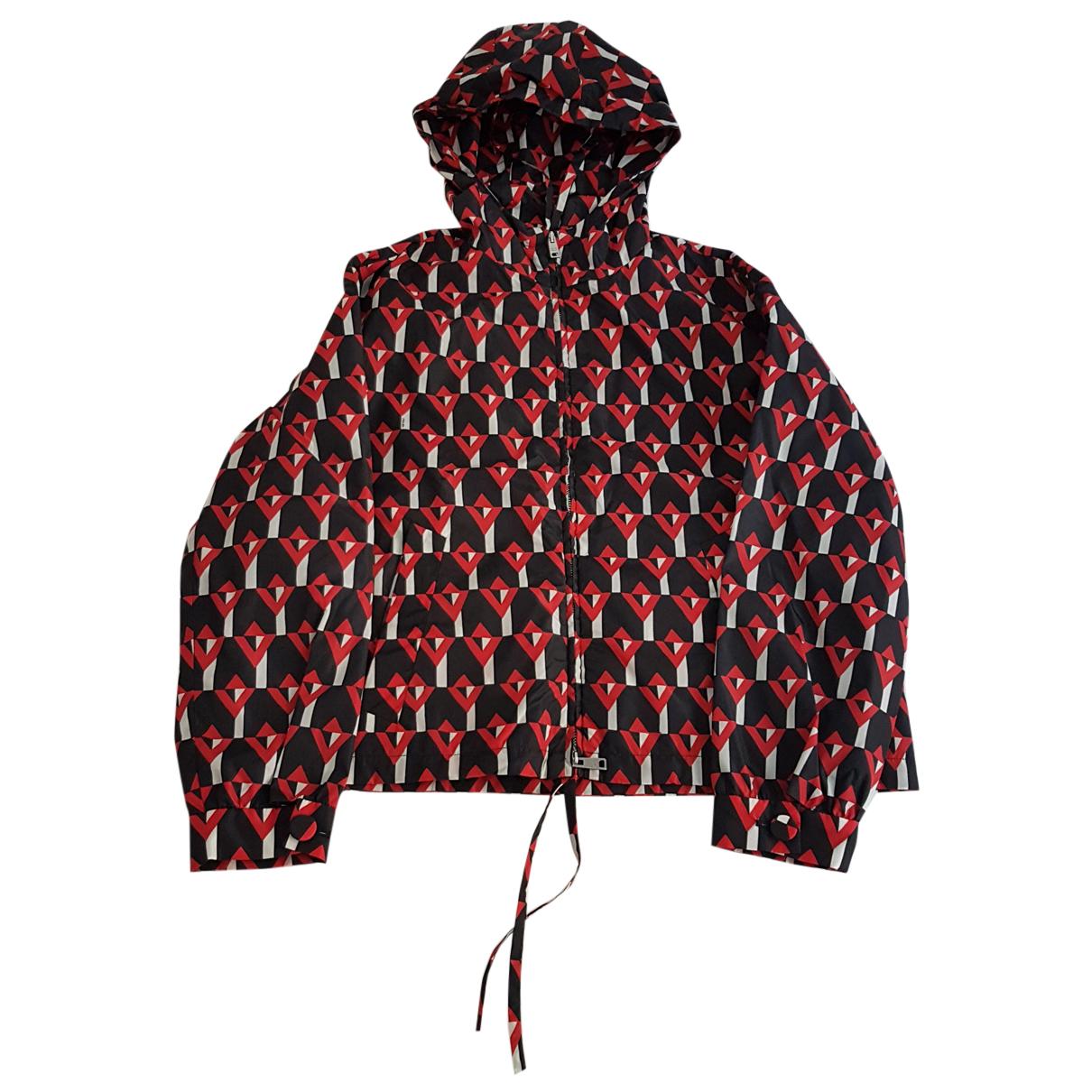 Prada - Manteau   pour femme - rouge