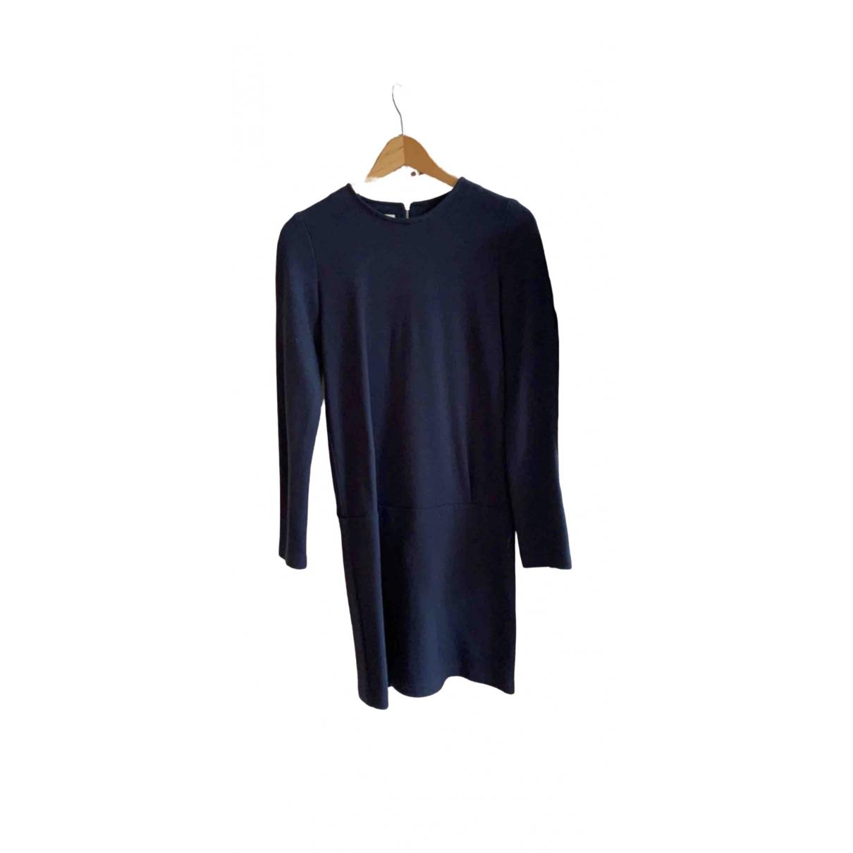 Sessun \N Kleid in  Blau Wolle