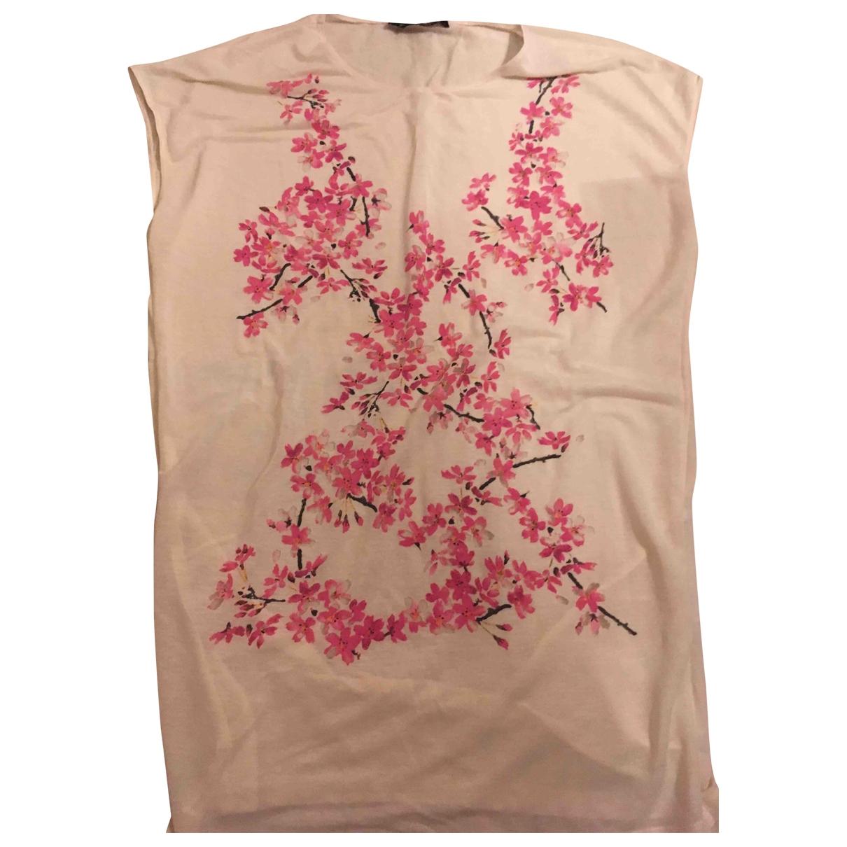 Balenciaga - Top   pour femme en coton - beige